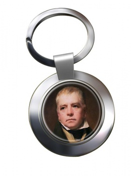 Walter Scott Chrome Key Ring
