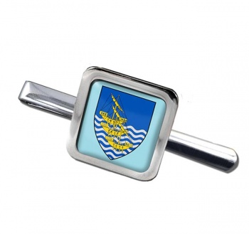 Waterford City (Ireland) Square Tie Clip