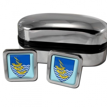 Waterford City Ireland Square Cufflinks