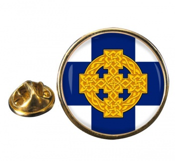 Church in Wales Round Pin Badge