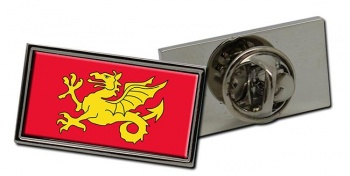 Wessex Flag Pin Badge