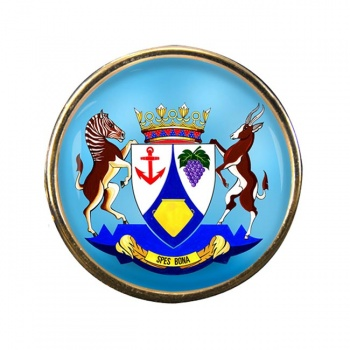 Western Cape (South Africa) Round Pin Badge
