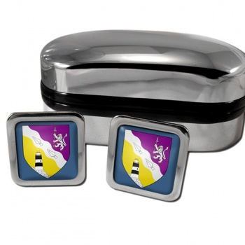 County Wexford Ireland Square Cufflinks