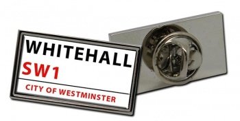 Whitehall Rectangle Pin Badge