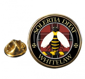 Whitelaw Scottish Clan Round Pin Badge