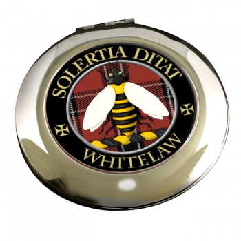 Whitelaw Scottish Clan Chrome Mirror