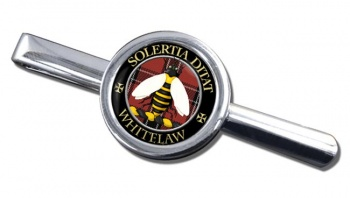 Whitelaw Scottish Clan Round Tie Clip