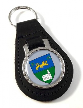County Wicklow (Ireland) Leather Key Fob