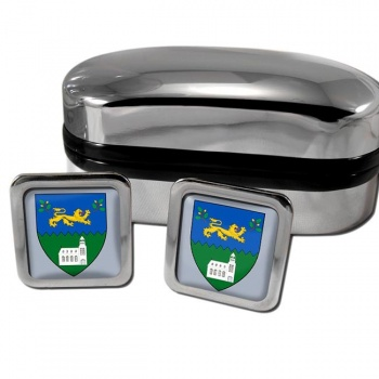 County Wicklow Ireland Square Cufflinks