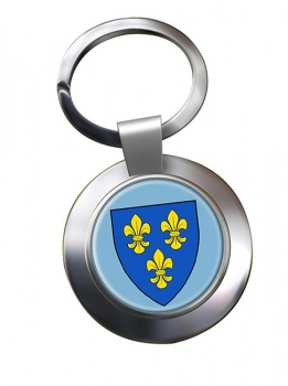 Wiesbaden (Germany) Metal Key Ring