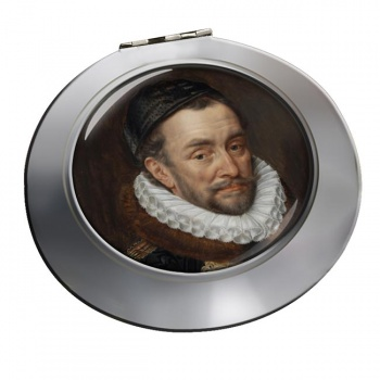 Willem van Oranje Chrome Mirror
