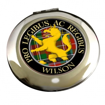 Wilson Scottish Clan Chrome Mirror