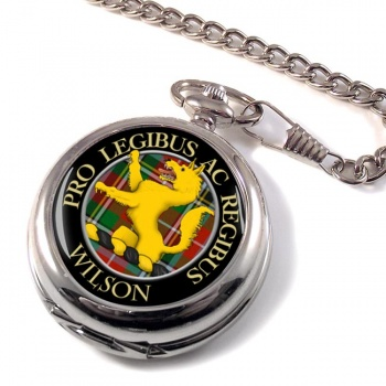 Wilson Scottish Clan Pocket Watch