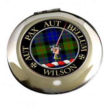 Wilson of Gunn Scottish Clan Chrome Mirror