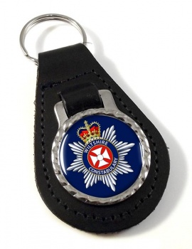 Wiltshire Constabulary Leather Key Fob