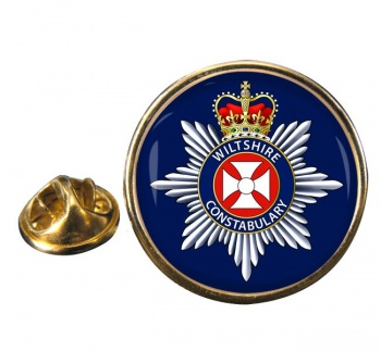 Wiltshire Constabulary Round Pin Badge