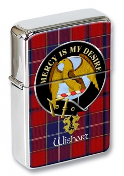 Wishart Scottish Clan Flip Top Lighter