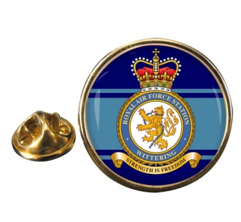 Wittering Round Pin Badge