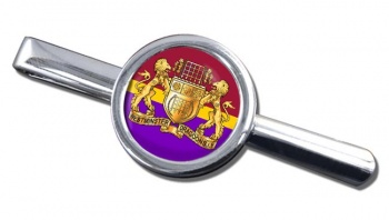 Westminster Dragoons (British Army) Round Tie Clip