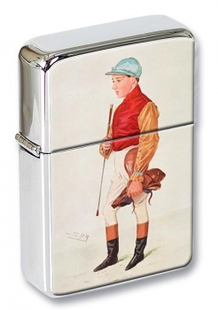 Frank Wootton Jockey Flip Top Lighter