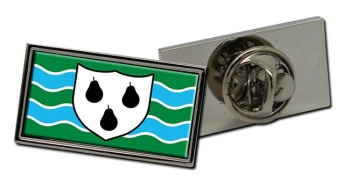 Worcestershire (England) Flag Pin Badge