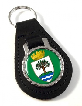 Worcestershire (England) Leather Key Fob