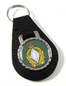 Women's Royal Australian Army Corps (WRAAC)  Leather Key Fob