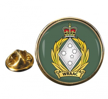 Women's Royal Australian Army Corps (WRAAC)  Round Pin Badge
