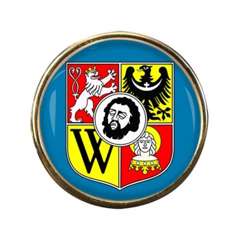 Wrocaw (Poland) Round Pin Badge