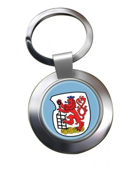 Wuppertal (Germany) Metal Key Ring