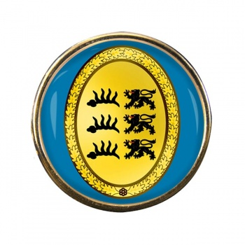 Wurttemberg (Germany) Round Pin Badge