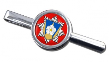 West Yorkshire Fire and Rescue Round Tie Clip