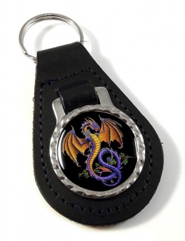 Wyverex Alchemy Dragon Leather Keyfob