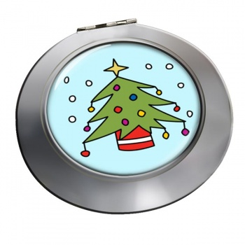 Christmas Tree Chrome Mirror