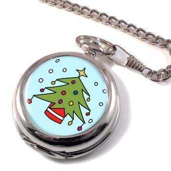 Christmas Tree Pocket Watch