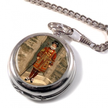 Victorian Yeoman of the Guard Pocket Watch