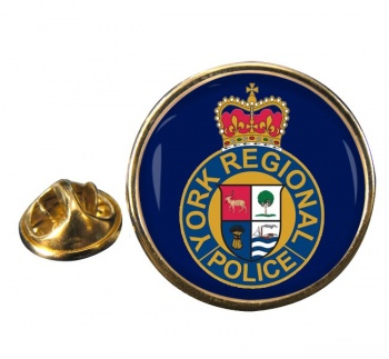 York Regional Police (Canada) Round Pin Badge