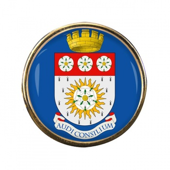 Yorkshire (England) Round Pin Badge