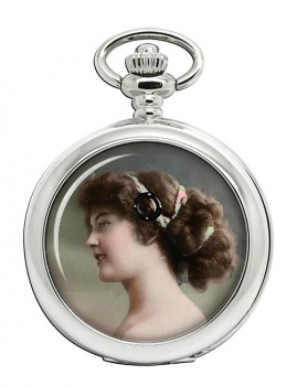 Young Edwardian Lady Pocket Watch