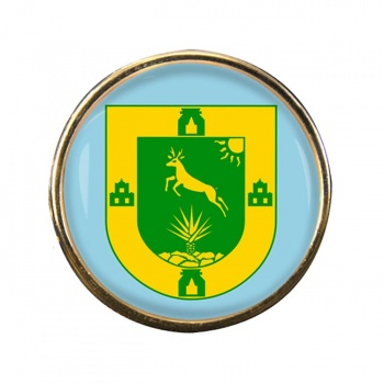 Yucatan (Mexico) Round Pin Badge