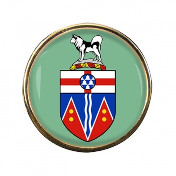 Yukon (Canada) Round Pin Badge