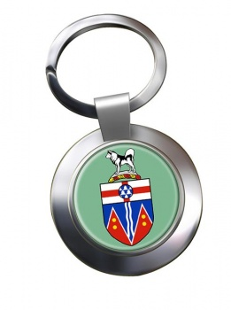 Yukon (Canada) Metal Key Ring