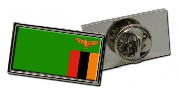 Zambia Flag Pin Badge