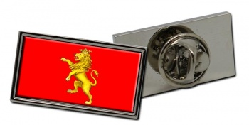 Zaragoza Ciudad (Spain) Flag Pin Badge