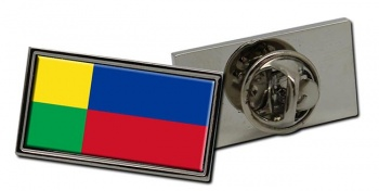 Zilina kraj Flag Pin Badge