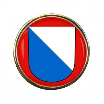 Zurich (Switzerland) Round Pin Badge