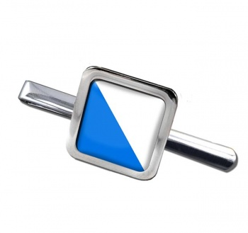 Zurich (Switzerland) Square Tie Clip