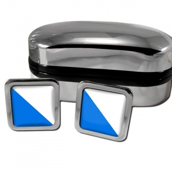 Zurich Switzerland Square Cufflinks
